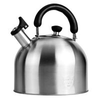 仁品 烧水壶 煤气304不锈钢烧开水壶家用燃气电磁炉大容量鸣笛水壶2.5L-6L烧水壶