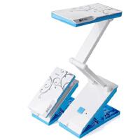 充电小台灯大学生宿舍书桌折叠便携护眼台灯带夹子