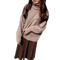 新年特惠秋冬上衣毛衣连衣裙两件套装显瘦减龄微胖mm女人妹洋气