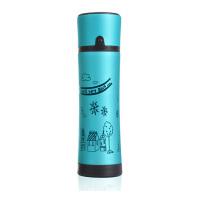 磨砂创意500ML不锈钢可爱女士便携保温杯 情侣水杯保温瓶 杯