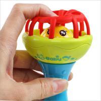 新生宝宝婴儿牙胶软球类益智婴幼儿童洞洞摇铃手抓软胶球抓握玩具