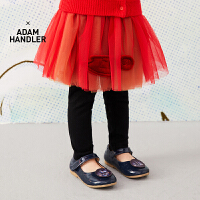 【6折价:209.4元】马拉丁童装女小童裤子春装2020年新款连裤腰裙洋气红色裙裤