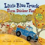 【预订】Little Blue Truck Farm Sticker Fun!