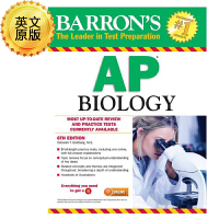 英文原版 巴朗AP生物学,第6版 Barron's AP Biology, 6th Edition