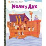 Noah's Ark (Little Golden Book) 诺亚方舟(金色童书) ISBN 9780307104403