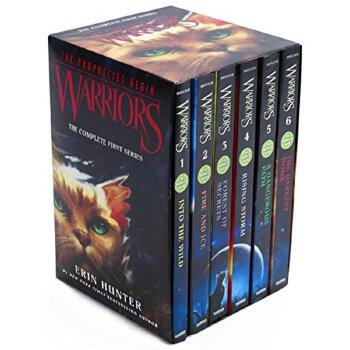 Warriors 猫武士 英文原版小说 青少年 10 15岁 Into the Wild 第一部曲 预言开始 6册全套装 The Complete First Series