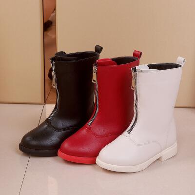 2到12岁11女孩10至9小孩穿的8女童皮鞋7冬天6加绒5马丁长靴4儿童3