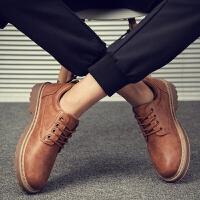 新品春冬季男鞋子韩版潮流工装皮鞋男士英伦休闲鞋百搭潮鞋