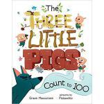 【预订】The Three Little Pigs Count to 100 9780807579015