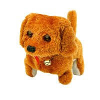 电子狗玩具 电动玩具狗狗走路会叫毛绒仿真宠物电子小狗男孩女孩儿童礼物电动