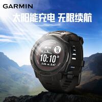 【太阳能 】Garmin佳明instinct本能solar 光动太阳能跑步血氧运动户外手表男