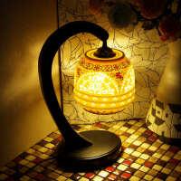 中式复古陶瓷现代简约田园灯具饰卧室床头台灯书房