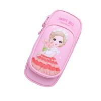 爱布释手7436甜甜公主学生文具袋 小女生笔袋 款式随机
