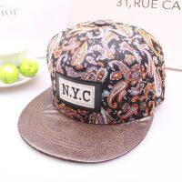 新帽子棒球帽街舞帽女士太阳帽嘻哈帽子韩版时尚休闲男士平沿帽户外潮帽