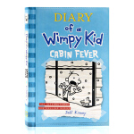 小屁孩日记6 Diary of a Wimpy Kid Book 6 Cabin Fever 幽闭症 英文原版 哭包日
