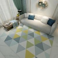 北欧简约现代家用客厅地毯卧室满铺房间榻榻米沙发茶几垫可爱几何k