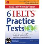 【预订】McGraw-Hill Education 6 Ielts Practice Tests with Audio