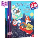 【中商原版】强强和盗盗系列4册 英文原版 Shifty McGifty and Slippery Sam 故事绘本 3