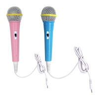 娃娃机话筒麦克风儿童唱歌故事机有线麦克风原装早教机卡拉OK通用