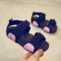男童凉鞋儿童鞋子魔术贴宝宝沙滩鞋凉鞋