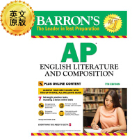 英文原版 巴朗AP英文文学和作文,第7版 Barron's AP English Literature and Com