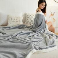 双层毛毯被子加厚珊瑚绒毯子冬季保暖床单法兰绒单人双人夏季薄款y