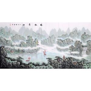 孙振亭《绿水青山》