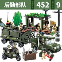 兼容积木积木城市警察特警军事坦克飞机立体拼装拼插积木 4-12岁儿童男孩益智模型玩具