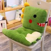 宿舍凳子屁股垫子椅子坐垫椅垫靠垫一体学生办公室教室毛绒秋冬女