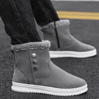 马丁棉靴男靴子潮流冬季雪地靴男士高帮男鞋韩版加绒保暖加厚棉鞋