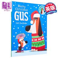 【中商原版】Chris Chatterton :Merry Christmas, Gus 圣诞快乐小狗吉斯 圣诞专题 低