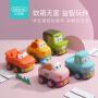 贝恩施电动遥控车玩具 男女孩耐摔汽车卡通儿童赛车玩具3-6岁