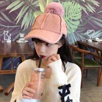 帽子女冬针织护耳可爱韩版保暖时尚冬季百搭加绒潮骑车防风毛线帽