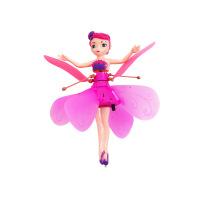 小飞仙飞天小仙女小仙子感应飞行器手感悬浮充电遥控飞机飞行玩具c +遥控开关