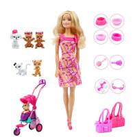 娃娃女孩之宠物集合组套装玩具礼物 芭比女孩之宠物集合组 其他