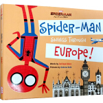 英文原版 漫威漫威复仇者联盟 Far From Home Spider Man Swings Through Euro