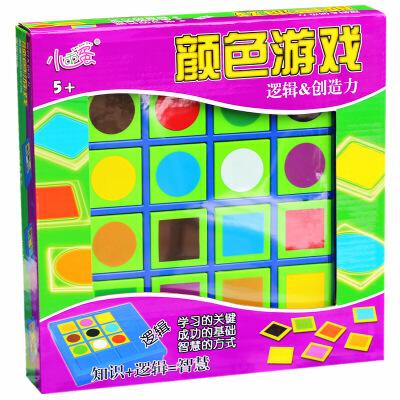 小乖蛋 儿童益智玩具 颜色游戏 逻辑玩具 益智玩具线索推理