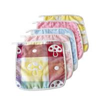 柔软吸水棉纱布宝宝口水巾儿童棉毛巾小方巾婴儿洗脸毛巾