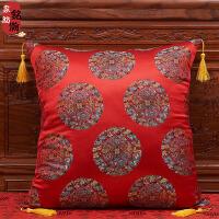 中式抱枕靠垫中国风客厅古典靠枕靠背腰枕套含芯红木沙发靠垫
