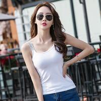 夏季新款白色吊带衫上衣女外穿棉性感网红内搭打底美背背心