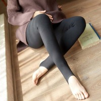 孕妇打底裤冬季加绒加厚打底袜秋冬外穿托腹连裤袜子踩脚连脚冬装