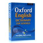 牛津儿童初级辞典学生词典 Oxford English Dictionary for Schools 英文原版工具书