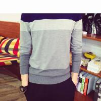 新款时尚 针织衫英伦学院风外套男潮青少年修身薄款
