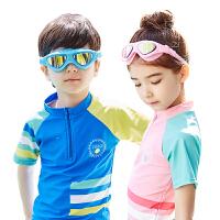 新款夏季儿童防雾泳镜男童女童潜水镜宝宝防水游泳小学生泳镜