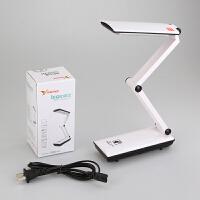 充电折叠式触摸可调光护眼 儿童学生宿舍学习书桌台灯