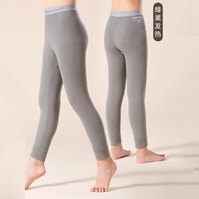 儿童保暖裤发热套装女童秋裤发热纤维中大童发热保暖12岁15岁女孩