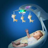 婴儿电动摇椅婴儿摇椅电动美国安抚宝宝摇摇椅自动摇床哄睡躺椅摇篮JH5 10877 豪华版