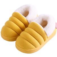 儿童棉拖鞋冬天男童中大女童宝宝棉鞋室内防滑小孩保暖鞋