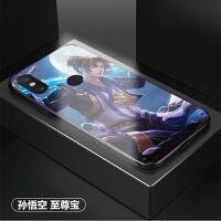 王者荣耀手机壳华为荣耀v20/10/9/8x来图定制nova2p/3i玻璃nova4