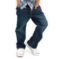 英格里奥新款男童牛仔裤宝宝裤子儿童裤子童装童裤男大童裤子长款薄款82152
